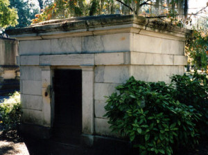 William R. King mausoleum at Live Oak Cemetery, Selma, Ala. (via Wikipedia)